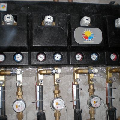 impianto di riscaldamento e idrodanitario