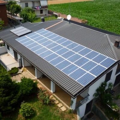 Impianto fotovoltaico a Turate (CO)