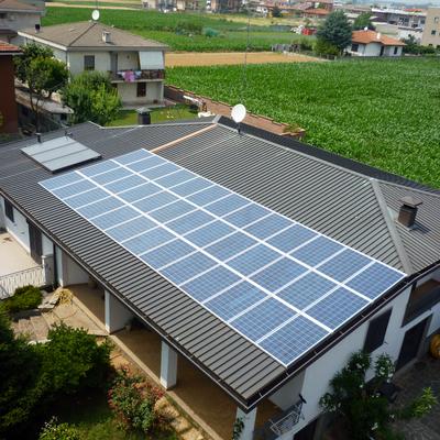 Impianto Fotovoltaico da 10 kWp a Turate (CO)