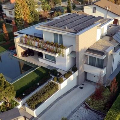 Impianto fotovoltaico da 10 kWp Sunpower a Carbonate