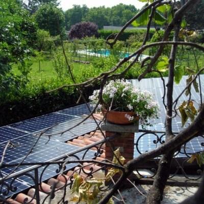 Impianto fotovoltaico da 10 kWp Sunpower a Villa Guardia