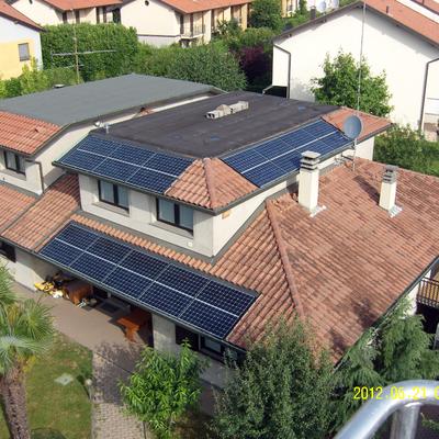 Impianto fotovoltaico Sunpower 6 kWp a Tradate