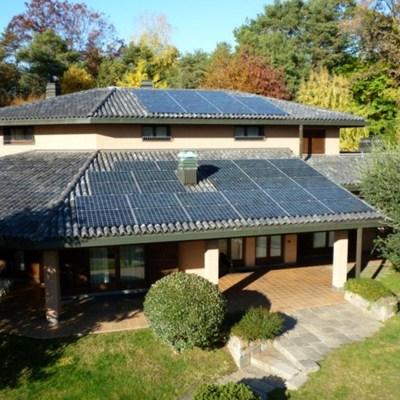 Impianto fotovoltaico Sunpower a Venegono Superiore