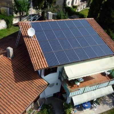 Impianto fotovoltaico Sunpower da 10 kWp