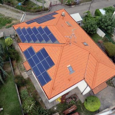 Impianto fotovoltaico Sunpower da 9 kWp