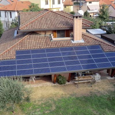 Impianto fotovoltaico Sunpower Solrif da 8 kWp