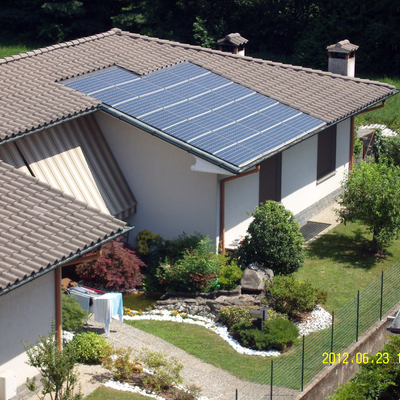 Impianto fotovoltaico Sunpower Solrif