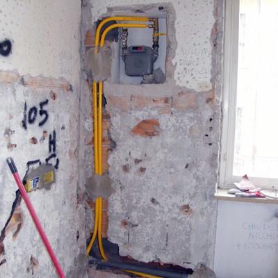 impianto gas cucina