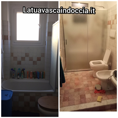 Sostituzione Vasca in doccia