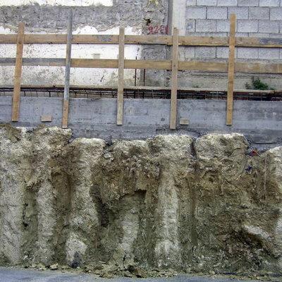 Infiltrazioni di acqua dal terreno