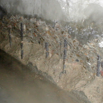 Infiltrazioni su cemento armato