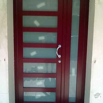 ingresso in PVC