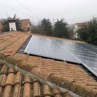 installazione impianto fotovoltaico e linea vita
