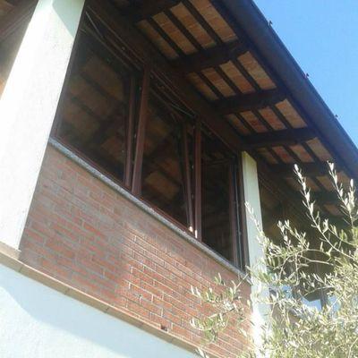 Installazione serramenti terrazzo sotto tetto