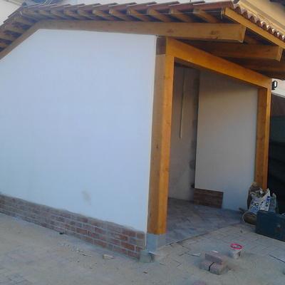 intonaco muratura