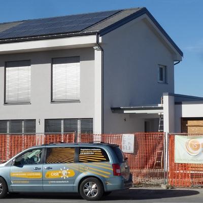 Realizzazione casa in legno GAS FREE