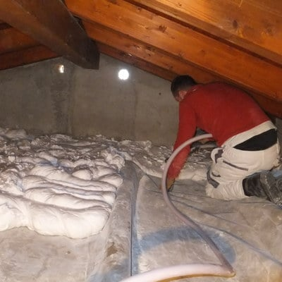 isolamento termico soffitta