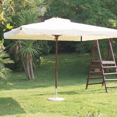 ombrellone con palo centrale