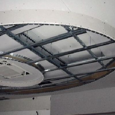 Struttura per cartongesso soffitto pannelli termoisolanti - Controsoffitto portante ...