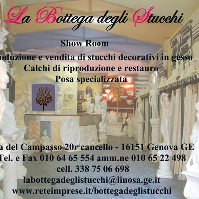 La Bottega degli Stucchi show room Genova