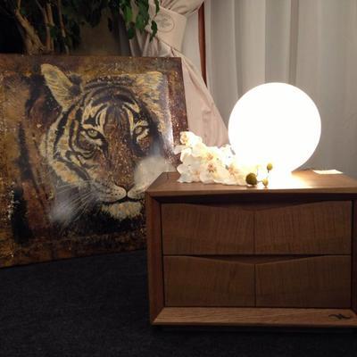 La Nuova Essenza del legno di Accademia del Mobile | COMODINO