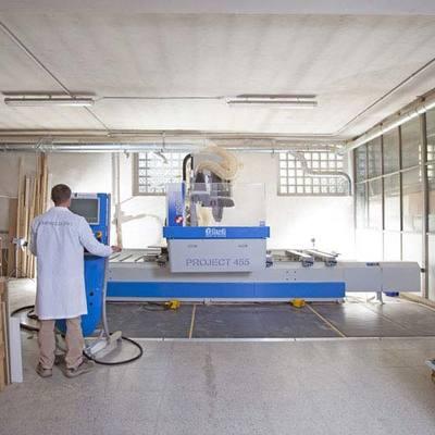 Laboratorio di falegnameria Semprelegno in Lissone per arredamenti su misura