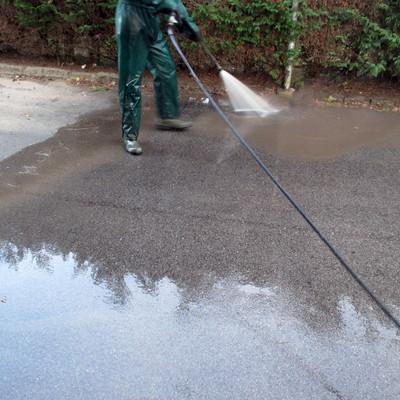 Lavaggio asfalto