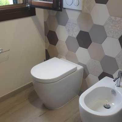 installazione bidet e wc