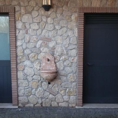 lavori di mattoni e pietra