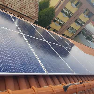 LISSONE (MB) 3 kWp  tetto inclinato