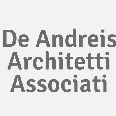 Logo De Andreis Architetti Associati_117597