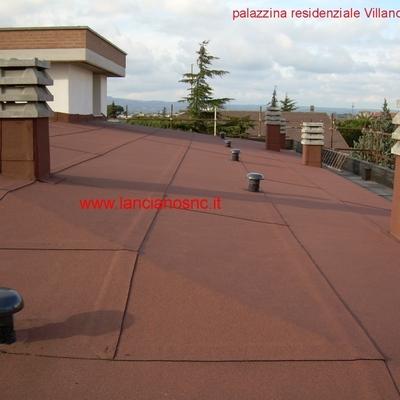 tetto rosso