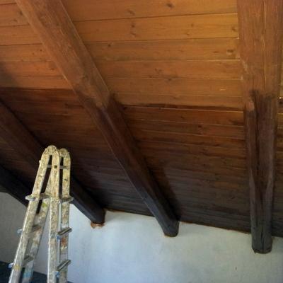 mansarda in legno