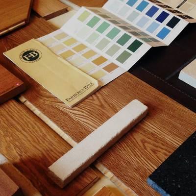 Assistenza alla scelta di materiali e finiture