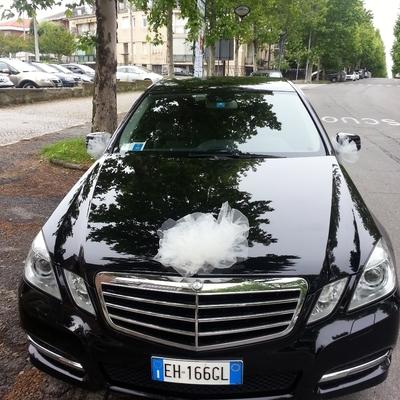 Mercedes classe E servizio sposi
