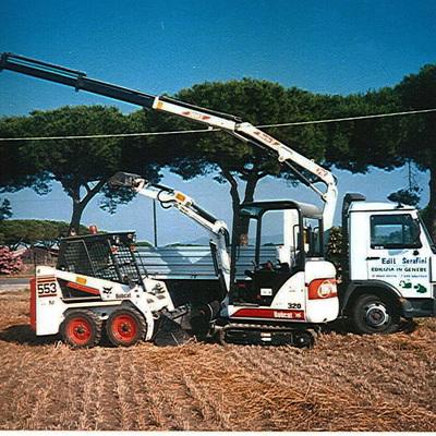 mini escavatori e macchine operatrici