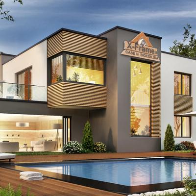 Villa moderna XFrame - Squillace