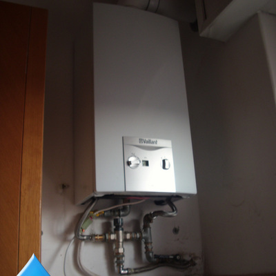 Montaggio caldaia a condensazione