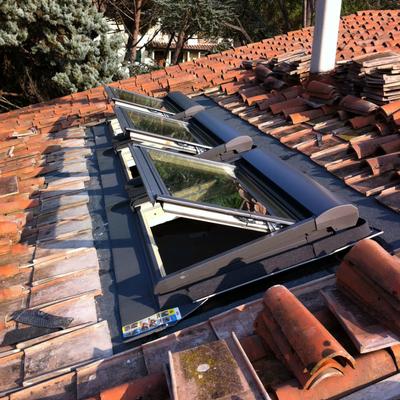 montaggio di n°3 finestre Velux GHL U04+SML