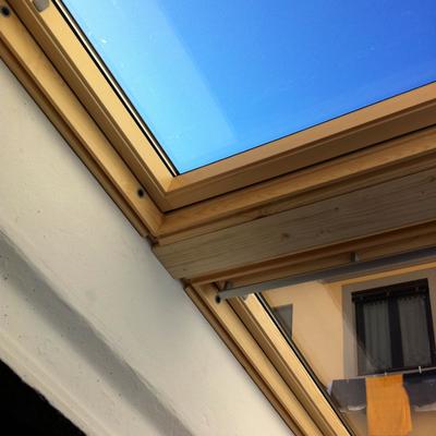 montaggio finestre Velux sovrapposte