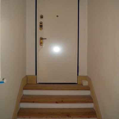 Montaggio porta blindata DR