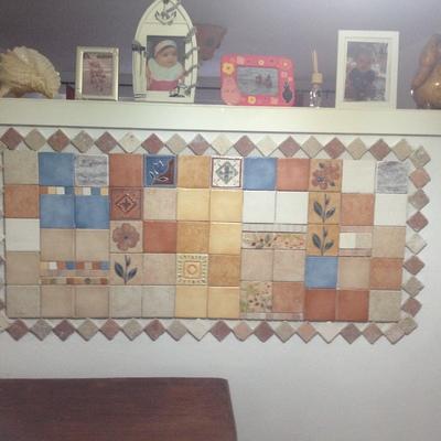 Mosaico in piastrelle