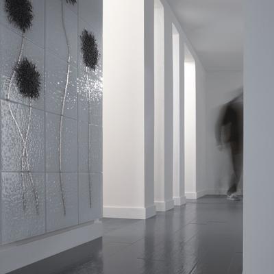 Corridoio con mosaico