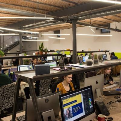 Interior per ufficio di graphic e digital design - Varese