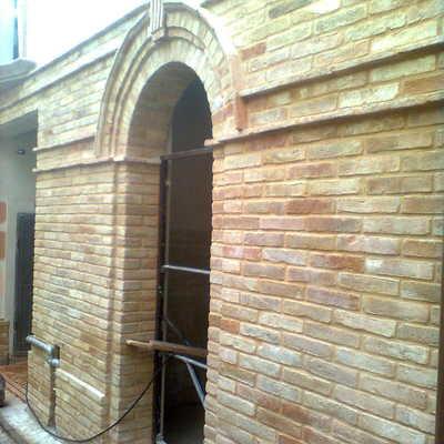Muratura a faccia vista con mattoni antichi