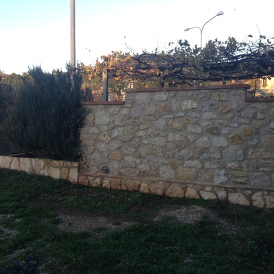 muri circonariali giardino
