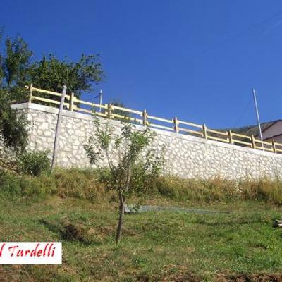 Muro di contenimento (Careggine)