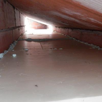 installazione isolamento su soffitte basse