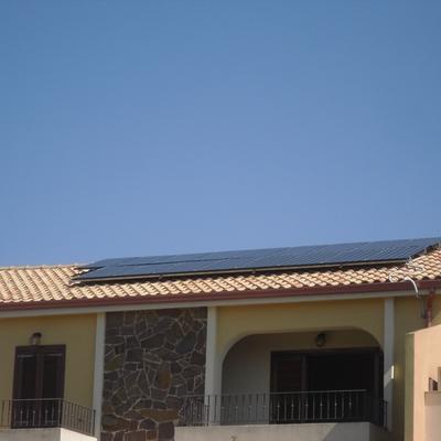 Impianto Fotovoltaico 4 Kwp Quartu S.E. - Sardegna - Cagliari con moduli Alta Efficienza Panasonic
