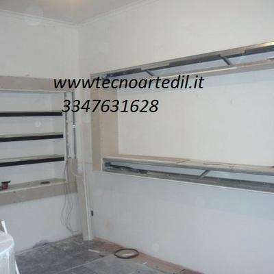 Nicchie in cartongesso Milano